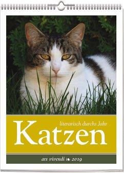 Katzen - literarisch durchs Jahr 2019
