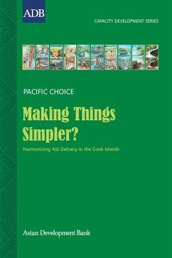 Making Things Simpler? (eBook, ePUB) - Wichman, Vaine