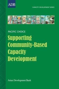 Supporting Community-Based Capacity Development (eBook, ePUB) - Bell, Brian