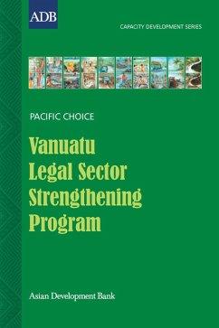 Vanuatu Legal Sector Strengthening Program (eBook, ePUB) - Vira, Henry