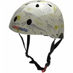 kiddimoto® Fahrrad Helm Fossil Dino
