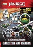 LEGO® NINJAGO® - Stickerabenteuer - Banditen auf Rädern