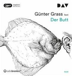 Der Butt, 3 MP3-CD - Grass, Günter