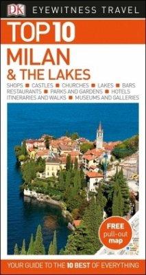 DK Eyewitness Travel Top 10 Milan and the Lakes - DK Eyewitness