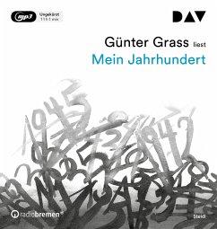 Mein Jahrhundert, 2 MP3-CD - Grass, Günter
