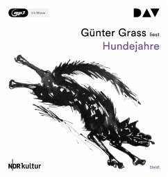 Hundejahre, 1 MP3-CD - Grass, Günter