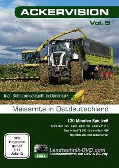 Ackervision - Maisernte in Ostdeutschland, 1 DVD