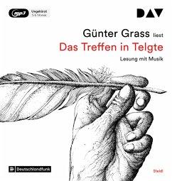 Das Treffen in Telgte, 1 MP3-CD - Grass, Günter