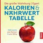 Die große Wahrburg/Egert Kalorien-&-Nährwerttabelle