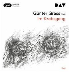 Im Krebsgang, 1 MP3-CD - Grass, Günter
