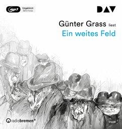 Ein weites Feld, 3 MP3-CD - Grass, Günter