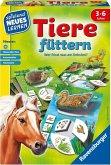 Ravensburger 25034 - Tiere füttern, Tier Lernspiel, Legespiel