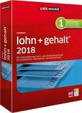 Lexware lohn+gehalt 2018, 1 CD-ROM