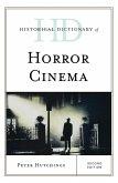 Historical Dictionary of Horror Cinema (eBook, ePUB)