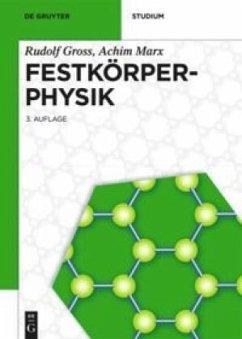 Festkörperphysik - Gross, Rudolf; Marx, Achim