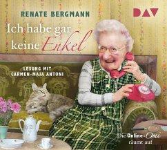 Ich habe gar keine Enkel / Online-Omi Bd.10 (3 Audio-CDs) - Bergmann, Renate
