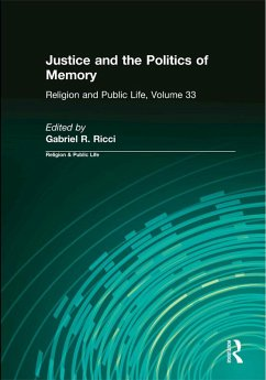 Justice and the Politics of Memory (eBook, ePUB)