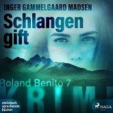 Schlangengift - Roland Benito-Krimi 7 (MP3-Download)