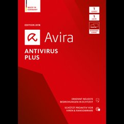 Avira Antivirus Plus 2018 1 Geräte / 12 Monate ...