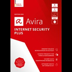 Avira Internet Security Plus 2018 4 Geräte / 12...
