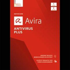 Avira Antivirus Plus 2018 1 Geräte / 24 Monate ...