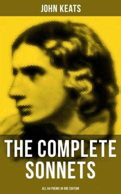 9788027230242 - Keats, John: The Complete Sonnets of John Keats - All 64 Poems in One Edition (eBook, ePUB) - Kniha