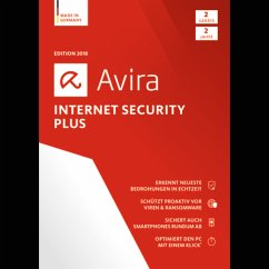 Avira Internet Security Plus 2018 2 Geräte / 24...