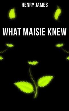 9788027230112 - James, Henry: WHAT MAISIE KNEW (eBook, ePUB) - Kniha