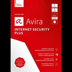 Avira Internet Security Plus 2018 1 Geräte / 12...