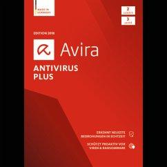 Avira Antivirus Plus 2018 2 Geräte / 36 Monate ...