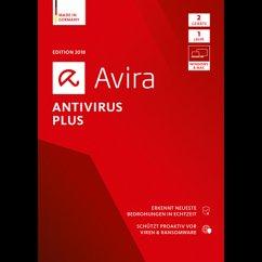 Avira Antivirus Plus 2018 2 Geräte / 12 Monate ...