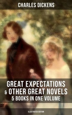 9788027231232 - Dickens, Charles: Great Expectations & Other Great Dickens´ Novels - 5 Books in One Volume (Illustrated Edition) (eBook, ePUB) - Kniha