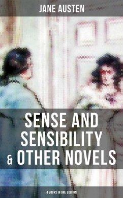 9788027231027 - Austen,Jane: Sense and Sensibility & Other Novels - 4 Books in One Edition (eBook, ePUB) - Kniha