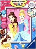 Ravensburger 28654 - Malen nach Zahlen, Belle & Cinderella, MNZ Disney Princess, Malset
