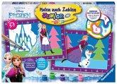Ravensburger 27771 - Disney Frozen Die Eiskönigin, Malen nach Zahlen Junior