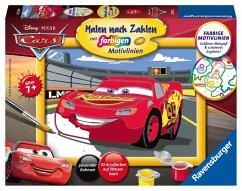 Ravensburger 27843 - Malen nach Zahlen, Disney Cars Lightning McQueen, Malset