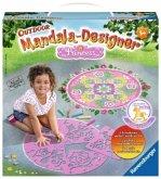 Ravensburger 29706 - Outdoor Mandala-Designer®, Mandalas für draußen, Straßenmalerei, Malset