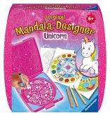 Ravensburger 29704 - Mandala-Designer® Unicorn, Mandalabox für unterwegs, Malset