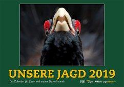 Wandkalender Unsere Jagd 2019