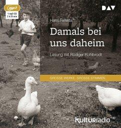 Damals bei uns daheim, 1 MP3-CD - Fallada, Hans