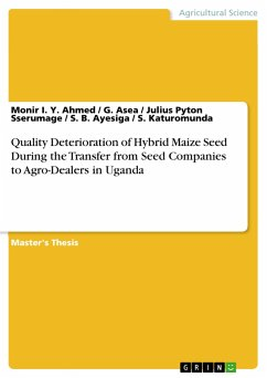 Quality Deterioration of Hybrid Maize Seed Duri...