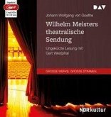Wilhelm Meisters theatralische Sendung, 2 MP3-CD