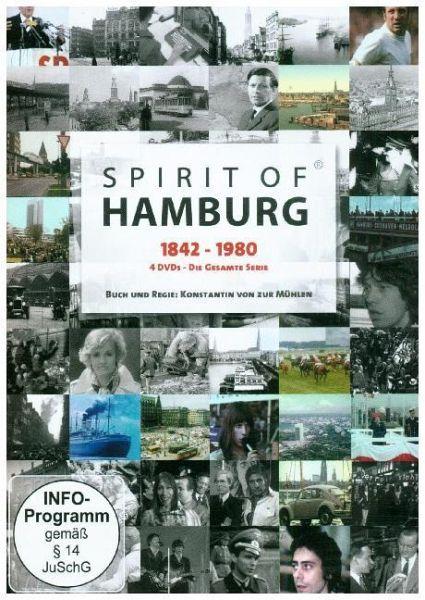 Spirit of Hamburg - 1842 - 1980, 4 DVDs