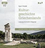Kulturgeschichte Griechenlands, 1 MP3-CD