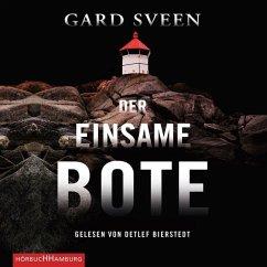 Der einsame Bote / Kommissar Tommy Bergmann Bd.3 (2 MP3-CDs) - Sveen, Gard