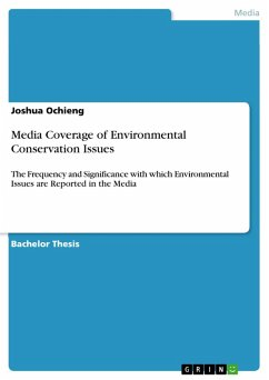 Media Coverage of Environmental Conservation Issues (eBook, PDF)