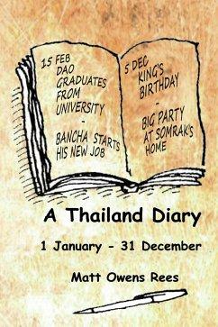 A Thailand Diary (eBook, ePUB)