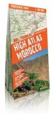 comfort! map Trekking Map Jbel Toubkal, High Atlas Morocco