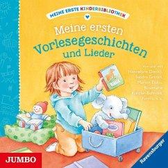 Meine erste Kinderbibliothek - Meine ersten Vorlesegesichten und Lieder, 1 Audio-CD