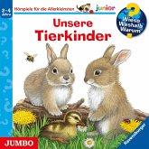 Unsere Tierkinder / Wieso? Weshalb? Warum? Junior Bd.15 (1 Audio-CD)